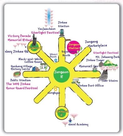 jinhae-festival-map1