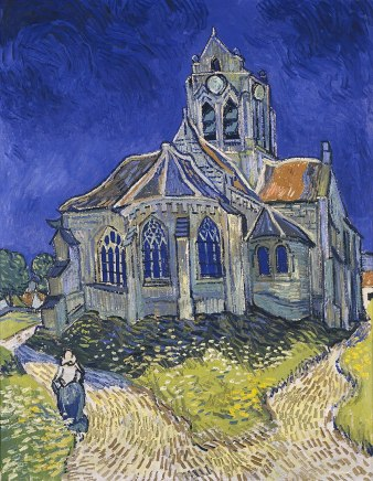 837px-Vincent_van_Gogh_-_The_Church_in_Auvers-sur-Oise,_View_from_the_Chevet_-_Google_Art_Project