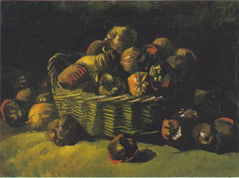 966px-Van_Gogh_-_Stillleben_mit_Apfelkorb2