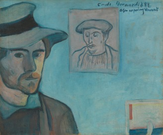 Bernard with Gauguin