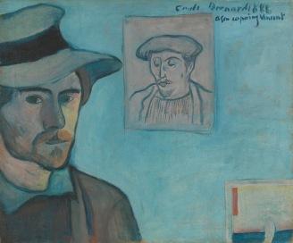 Bernard with Gauguin