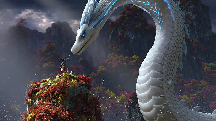 white-snake-lady-white-snake-legend-of-the-white-snake-creature-hd-wallpaper-preview